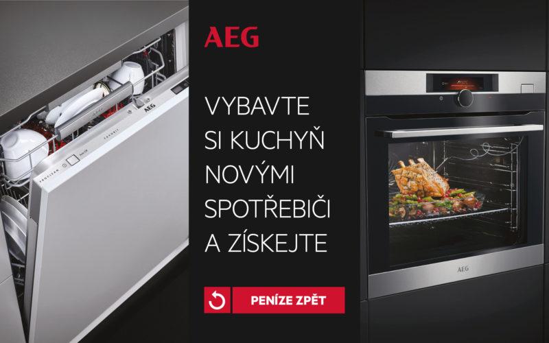 Kuchyňské spotřebiče AEG Mastery s cashbackem!